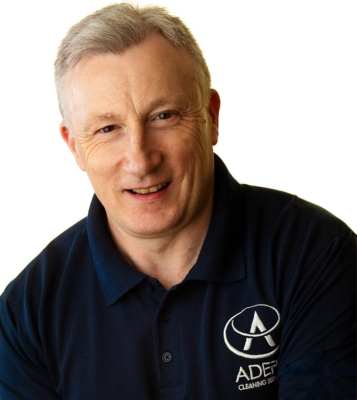 Steve Hands, Managing Director of Adept Cleaning Services Birmingham West